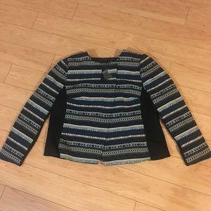 Lane Bryant geometric print blazer